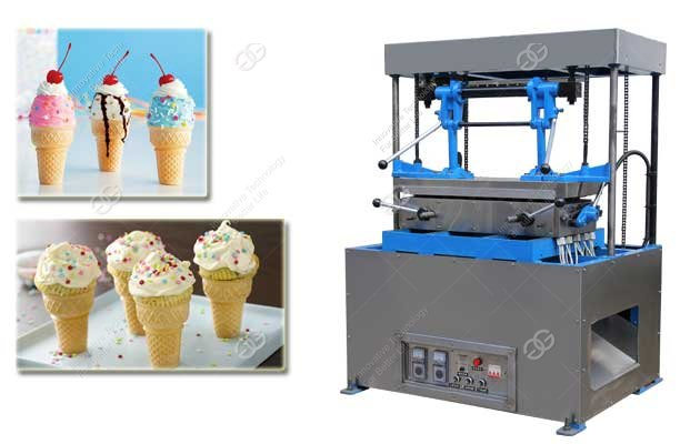 Italian Ice Cream Cone Making Machine With High Quality For Sale