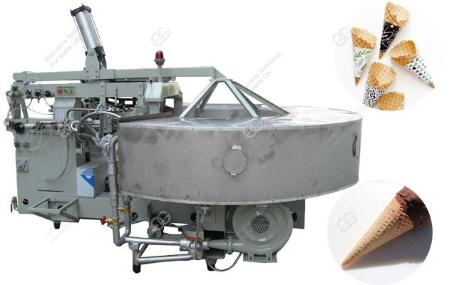 Fully Automatic Ice Cream Sugar Rolled Cone Machine With Factory Price