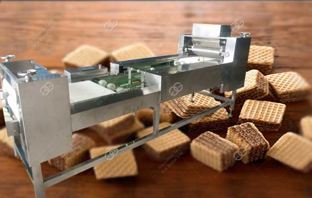 automatic wafer biscuit line