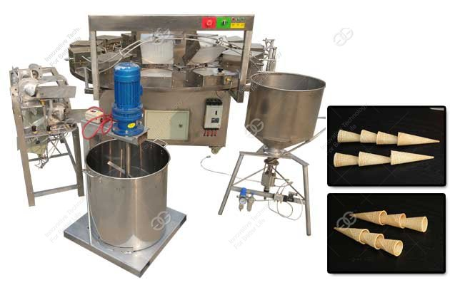 commercial waffle cone machine
